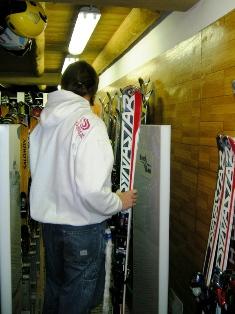 Varco RFId per noleggio sci