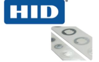 HID NFC RFId Tags